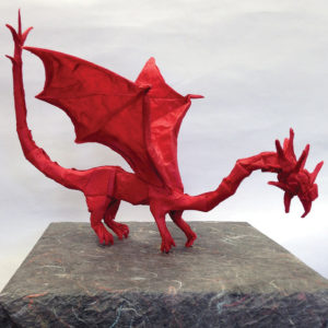 Red Dragon Origami