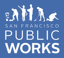 SF public works logo