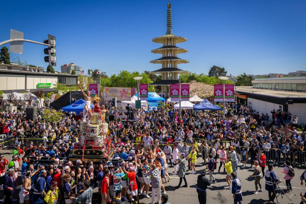 Grand Parade, San Francisco Taru Mikoshi